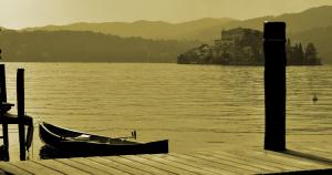 Lago d'Orta. Lombardia, Italia. Fotografía de Antonio Lopera