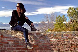 Retrato sobre el muro. Fotografía de Antonio Lopera.