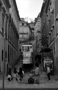 As ruas de Lisboa. Autor: Antonio Lopera