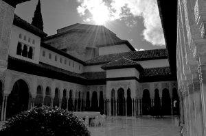 Patios de La Alhambra. Fotografía de Antonio Lopera