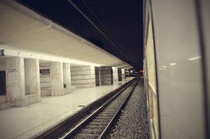 Desde el tren. Fotografía de Antonio Lopera