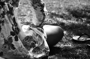 El vestido de flores. Fotografía de Antonio Lopera.