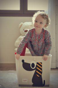 Laura en la caja. Fotografía de Antonio Lopera