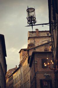 Luces de Siena. Fotografía de Antonio Lopera