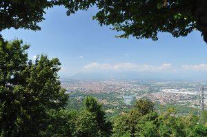 Torino desde la Basílica de Superga. Fotografía de Antonio Lopera