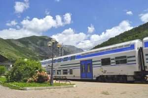 Estación de Bardonecchia. Fotografía de Antonio Lopera