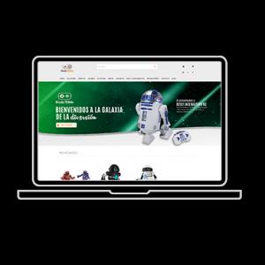 Web de la tienda Magento Wonder Robotic Córdoba