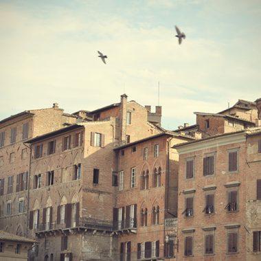 Il cielo di Siena. Siena. Italia. - Yermanasca Due