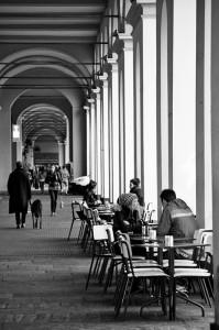 Piazza Vittorio Venetto, Torino, Italia. Autor: Antonio Lopera