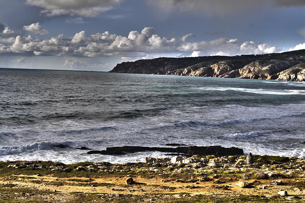 Olhando o mar. Cabo da Roca. Portugal. - Yermanasca Due