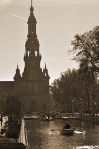 Plaza de España de Sevilla. Fotografía de Antonio Lopera