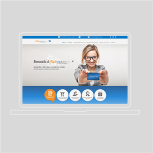 Diseño web Lucena Club ExpacioNet